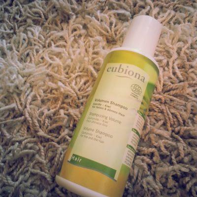 EUBIONA apimties suteikiantis šampūnas, kuris veikia!