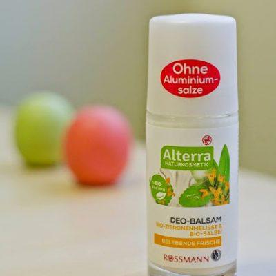 Ar vertas pasitikėjimo Alterra dezodorantas su melisa ir šalavijais?
