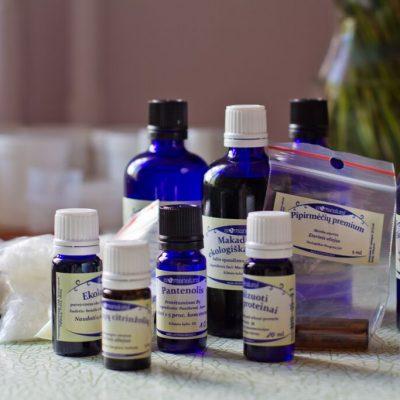Kosmetikos dirbtuvės su Aromanatural.lt: plaukų kondicionierius bei kvapnus kūno kremas