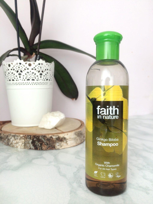 Faith in Nature šampūnas šviesiems plaukams su dviaukščio ginkmedžio ekstraktu