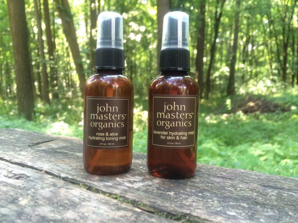 John Masters Organics levandų veido ir plaukų drėkiklis bei tonikas su rožėmis ir alaviju