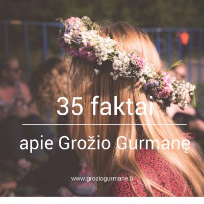 Visiškai atvirai: 35 faktai apie mane
