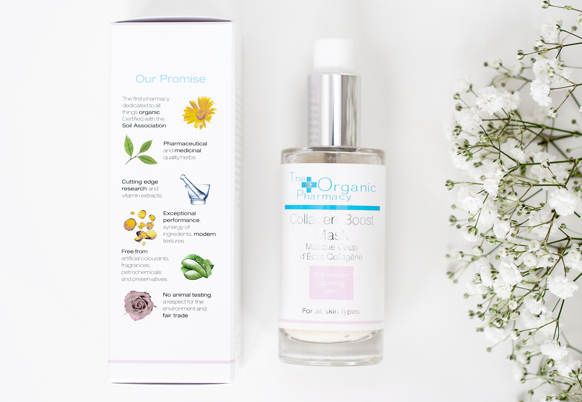 the organic pharmacy collagen boost