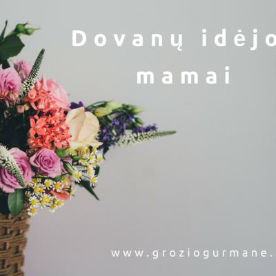 10 Dovanų idėjų Motinos dienos proga pagal Grožio Gurmanę