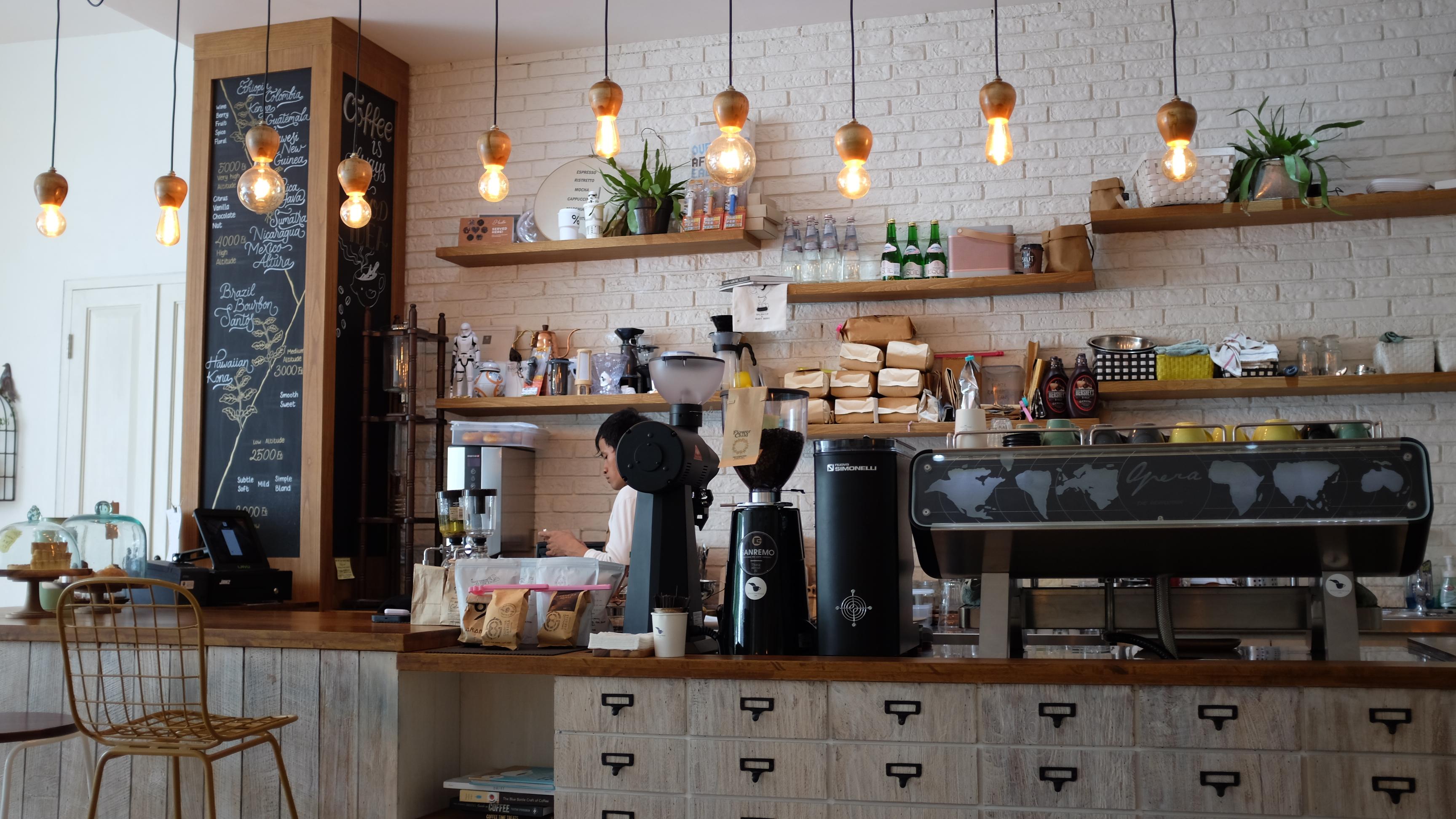 kavinė, kava