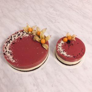 Žaliavalgiškas vyšnių tortas pagal Raw Cakes