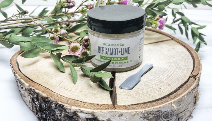 Natūralus Schmidt's bergamočių bei žaliųjų citrinų dezodorantas
