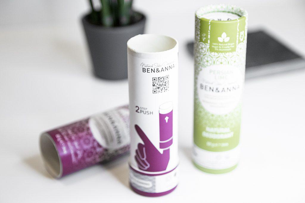veganiškas dezodorantas